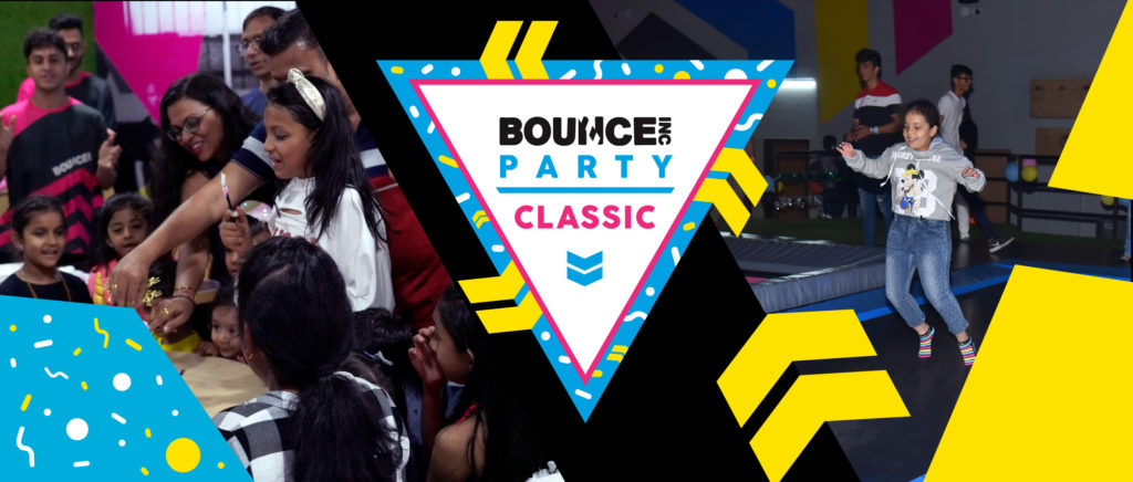 BOUNCE Classic party web banner