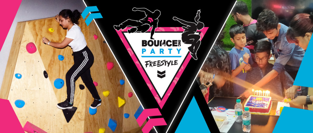 BOUNCE Freestyle web page banner